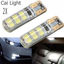 1 Pair T10 194 W5W COB 2835 SMD 12LED Car CANBUS Super Bright License Light Bulb