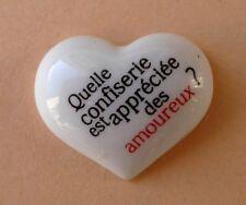 Fève Les Devinettes - Croustipate 2012 - La Pomme d'amour