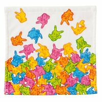Pokemon Center Original Pikachu Gummi Candy Hand Towel Handkerchief Japan