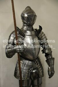 Medieval Knight Combat Full Suit Of Armor Museum Quality Richard Armor Suit