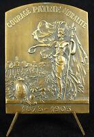 Medal Allegory of Marseille 1903 XXIX e fête Gymnastics sport J Latil Medal
