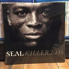 Seal - Killer 2005 remixes [12 inch Vinyl] single SEALED [Double LP] [2x12] NEW