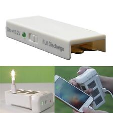 TELESIN Power Fast Discharge Discharger For DJI Phantom 3 Battery & Charge Phone