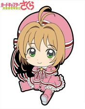 Cardcaptor Sakura Clear Card Petanko Trading Rubber Strap Charm Pink Costume New