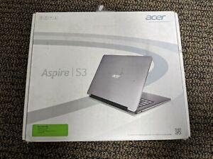 Acer Aspire S3-391-6046 13.3 320GB Core i3-2367M 2nd Gen. Win8 - Silver