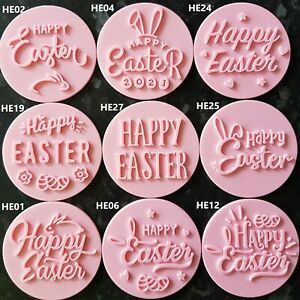 Happy Easter/Love/Thank You/Embosser/Stamp Fondant Cupcake Cake Cookie