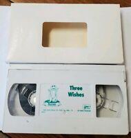 Barney & The Backyard Gang Three Wishes VHS Tape 1988