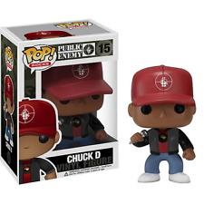 Funko Pop Rocks Public Enemy Chuck D Figure Grail Vauted Retired Mc Rapper #15