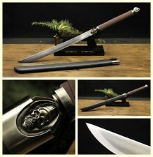 Hand Forged Japanese Samurai Sword Machetes Katana Manganese Steel Sharp Blade