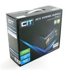 CiT 400W HE Black Edition PSU 12cm Single Rail CE PFC Model 400HE
