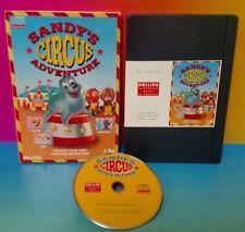 Sandy's Circus Adventure (Philips CD-i, 1990) cdi Complete Game Rare HTF