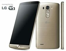 LG G3 - 3 GB RAM -Gold -Smartphone LG-D855-32GB with Six Months Seller Warranty
