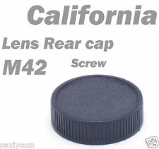M42 42mm Screw Lens Rear Cover Cap for Praktica Zenit Pentax Mount back