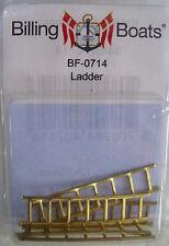 Billing BOATS Accessorio bf-0714 - 5 x 12mm x 55mm - 7 Rung diagramma Ladder in ottone Nuovo Confezione