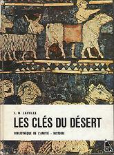 """Livre  Enfant Jeunesse """" Les Clés du Désert """" L. N. Lavolle """" ( No 1150 ) Book"""