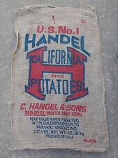 Burlap Sack For Sale Ebay