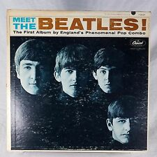 Meet The Beatles VG+ TESTED T-2047 Mono 1st Press 1964 RARE