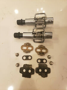 Crank Brothers Egg Beater Clipless Pedals And Cleats MTB Cyclocross Gravel Bros
