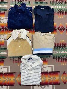 70s Campus Ultra Knit Gray Marroon Pullover Disco Shirt Medium