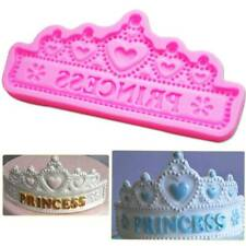 DIY Princess Crown Silicone Cake Mold for Chocolate Jelly Baking Mould Sugar