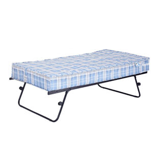 3ft Single Guest Pull Out Folding Trundle Guest Visiting Metal Bed Frame