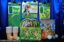 Animal Planet Party Set # 21 Animal Planet Party Supplies Tablecover  Favor Pack