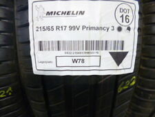 1x Sommerreifen MICHELIN 215/65 R17 99V Primancy 3 DOT16 - 7mm