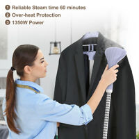 Heavy Duty Powerful Stand Clothes Garment Fabric Steamer 11 Steam Levels 1800W