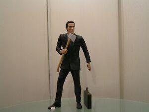 "AMERICAN PSYCHO Christian BALE (P. BATMAN ) 48cm 1/4 18 "" inch Figurine Neca"