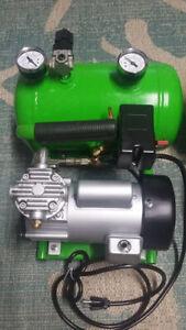 110 volt Elite Series diving compressor/aluminum tank reserve by Gator Gill
