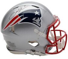 JULIAN EDELMAN Autographed New England Patriots Speed Authentic Helmet FANATICS
