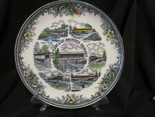 """The New England Covered Bridges Rare 9.25"""" Collector's Plate"""
