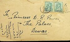 INDIA 1951 BOMBAY ARMY NAVYSTORES COVER TO DEWAS PRINCESS W/CONTENT . N44103