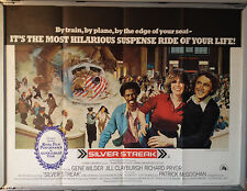 Cinema Poster: SILVER STREAK 1976(Quad) Gene Wilder Richard Pryor Jill Clayburgh