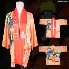 Anime Uzumaki Naruto Kimono Bathrobe Coat Haori Robe COS Cosplay Costume Clothes