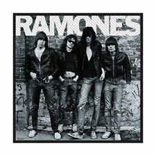 THE RAMONES  OFFICIAL SEW ON PATCH  PUNK ROCK