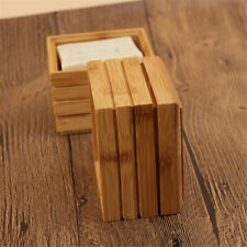 Bath Shower Natural Bamboo Wood Soap Dish Storage Container Soap Container
