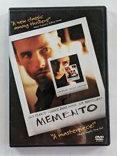 Memento Dvd 2000 Guy Pearce, Carrie-Ann Moss, Joe Pantoliano
