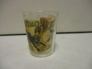 1950's Baltimore Colts Glass with Extra Decal