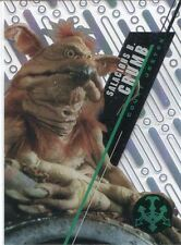 Star Wars 2016 High Tek Pattern 1 Form 1 Base Card SW-8 Salacious B. Crumb