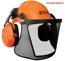 Genuine Stihl Professional Helmet Earmuff & Visor Kit Chainsaw Safety Protection