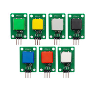 7 Button Digital Square Button Set for Arduino