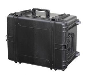 MAX620H340STR - Equipment Case wasserdicht, schwarz, 620x460x340mm inkl. auszieh
