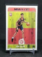 2017-18 Panini NBA Hoops John Collins RC, Rookie Card, Atlanta Hawks