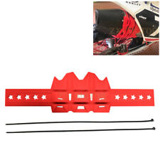 Motorcycle Exhaust Anti-hot Pipe Heat Shield Cover Muffler Guard Protector Red