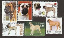 Bullmastiff * Int'l Dog Postage Stamp Art Collection * Great Gift Idea*