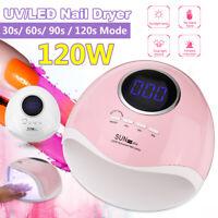 42LED SUN UV Lampen Lichthärtungsgerät Nagel Trockner Gel Dryer Maniküre