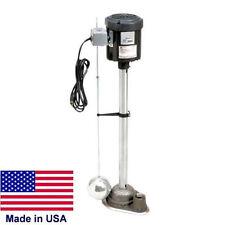 SUMP PUMP Commercial/Industrial - 1/2 Hp TEFC Motor - 115V - 3,900 GPH