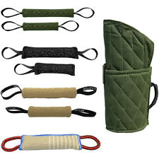 Durable Dog Bite Tug Arm Sleeve for Police Dogs Training Chewing Toy Schutzhund