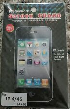 Screen Guard Protector for iPhone 4/4S NEW